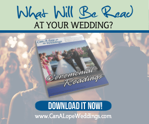 Download Your Copy Of Our Wedding Cermeonial Reading Ebook