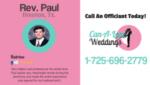 Paul: Houston Wedding Officiant