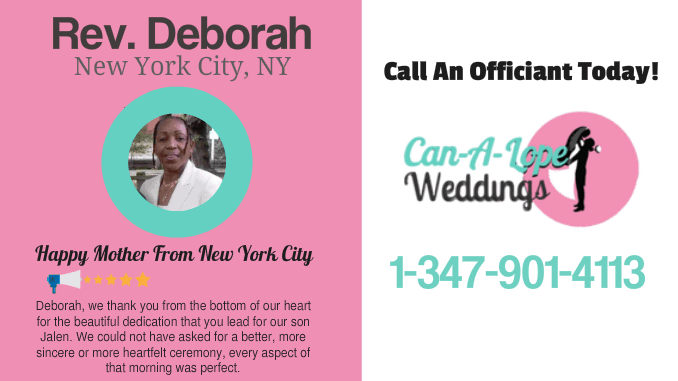 Wedding Officiant Queens NYC